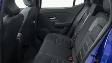 New Dacia Sandero rear seats