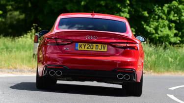 Audi S5 Sportback rear cornering