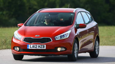 The Cee'd majors on comfort rather than excitement behind the wheel, with supple suspension and light steering
