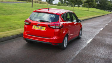 There are just three trim levels for the C-MAX, called Zetec, Titanium and Titanium X