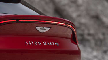 Aston Martin DBX boot badge