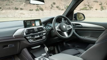 The interior is attractive and well-built, with a style close to the latest BMW 5 Series