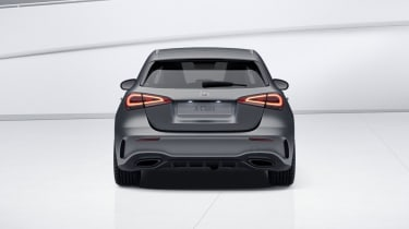 2020 Mercedes A-Class Exclusive Edition and Exclusive Edition Plus - rear viewstatic