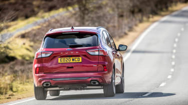 Ford Kuga Plug-in Hybrid rear driving