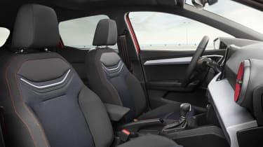 2021 SEAT Ibiza FR Desire Red - seats