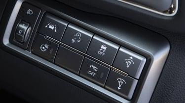 SsangYong Tivoli driver assistance buttons