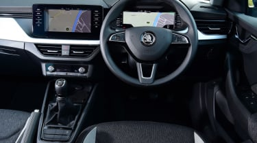 Skoda Kamiq SUV interior
