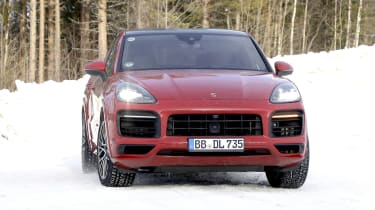 Porsche Cayenne Coupe GTS - front view