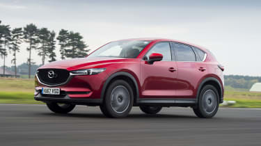Mazda CX-5 - front 3/4 view