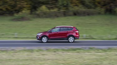 Also sold in North America as the Ford Escape, the Kuga looks equally at home on UK roads
