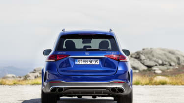Mercedes-AMG GLE 63 S - rear straight on view
