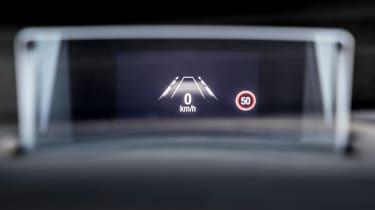 Ford Focus ST hatchback head-up display