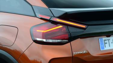 Citroen C4 hatchback rear lights