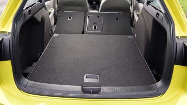 Volkswagen Golf Estate boot seats folded