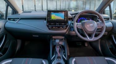 Toyota Corolla hatchback dashboard