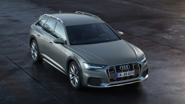 New 2019 Audi A6 Allroad estate - front 3/4 view static
