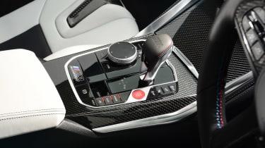 BMW M3 Competition saloon - centre console