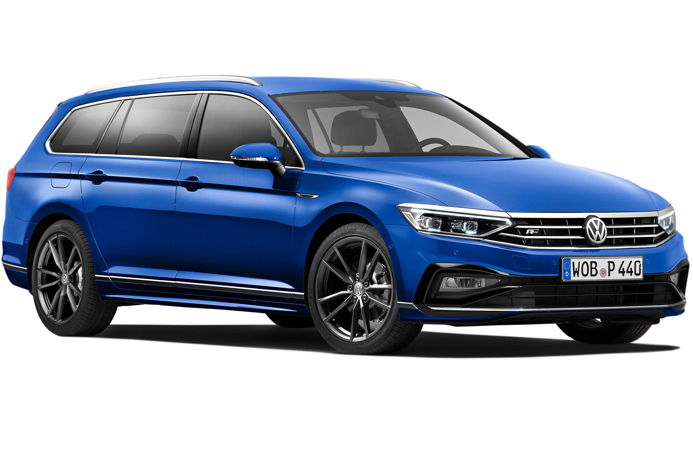 Volkswagen Passat Estate 2020 Practicality Boot Space Carbuyer