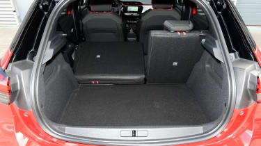 2019 Vauxhall Corsa - boot space with rear seats folded