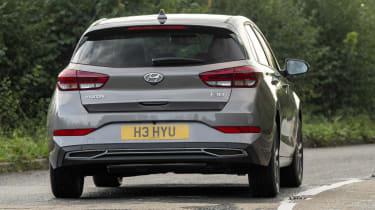 2021 Hyundai i30 driving - rear view