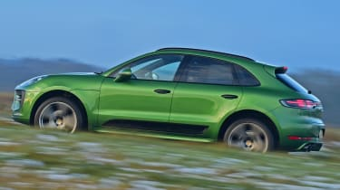 2020 Porsche Macan - side dynamic view