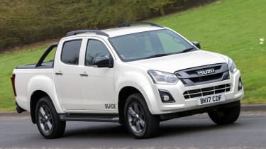 The Isuzu D-Max is the only model currently offered by Isuzu in the UK.