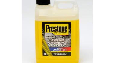Prestone Extreme Performance Screen Wash  Price: around £4 Size: 2,000ml Rating: 5/5