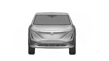 Nissan Ariya patent image - front