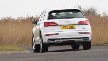 The Q5 was launched with a 2.0-litre diesel or petrol engine, followed by 3.0-litre versions