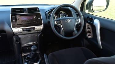 Toyota Land Cruiser Utility steering wheel