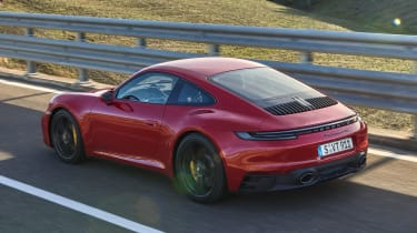 New Porsche 911 GTS rear