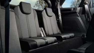 Peugeot 5008 SUV third row seats