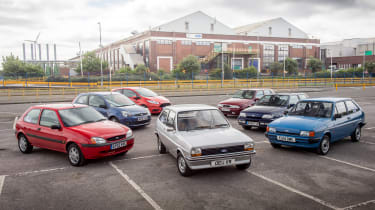 Through eight generations, the Ford Fiesta remain's Britain's favourite car