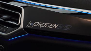 BMW iX5 Hydrogen - dashboard