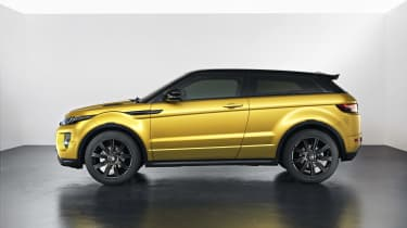 Range Rover Evoque SUV 2013 Limited Edition Sicilian Yellow side