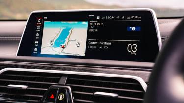 BMW 7 Series saloon - infotainment