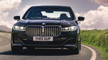 BMW 7 Series saloon - front on dynamic