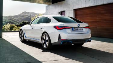 2021 BMW i4 eDrive40 - rear 3/4