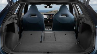 Cupra Formentor SUV boot seats folded