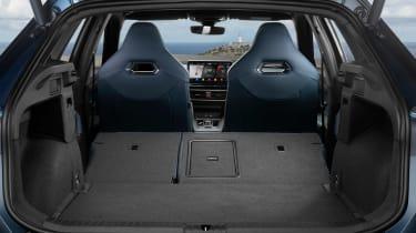 Cupra Formentor SUV boot seats folded