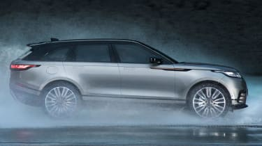 The air suspension also drops the Velar by 10mm at speeds over 65mph, in order to save fuel