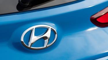 Hyundai Kona SUV rear badge
