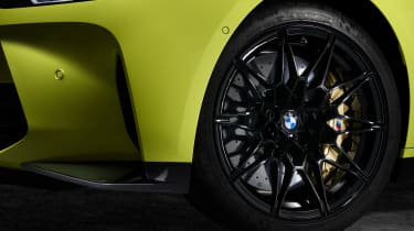 2021 BMW M4 Competition Coupe - alloy wheels close up