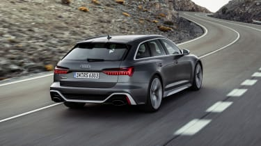 Audi RS6 Avant rear driving