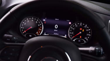 Jeep Renegade dials