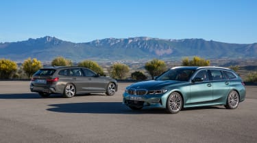 2019 BMW 3 Series Touring - static SE and M Sport