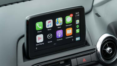 Mazda MX-5 Roadster infotainment display