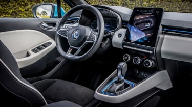 Renault Clio E-Tech Hybrid - interior