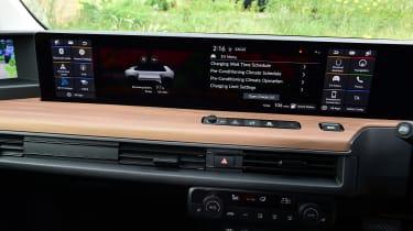 Honda e hatchback dashboard