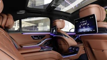 2020 Mercedes S-Class - rear seat infotainment